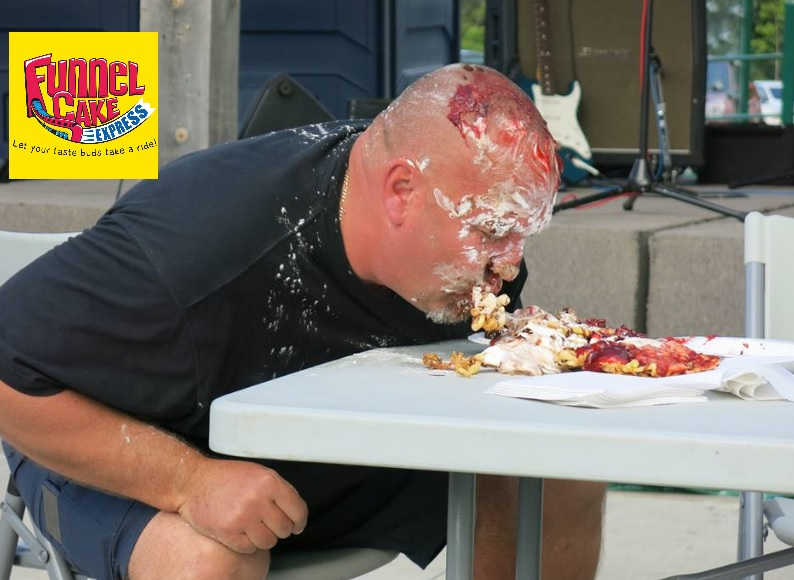 Funnel Cake Eating Competition 2017