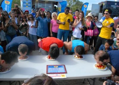 Funnel Cake Eating Competition