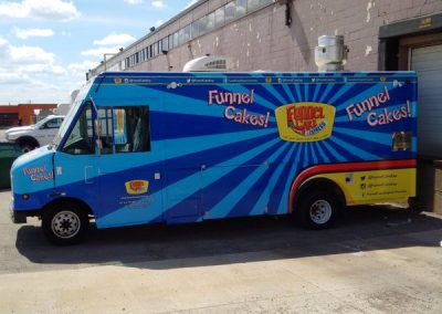 funnel cake express truck