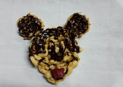 mickey mouse funnel cake