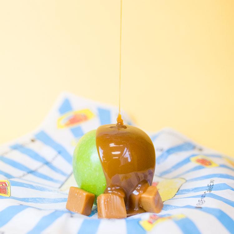 Deep Fried Caramel Apple