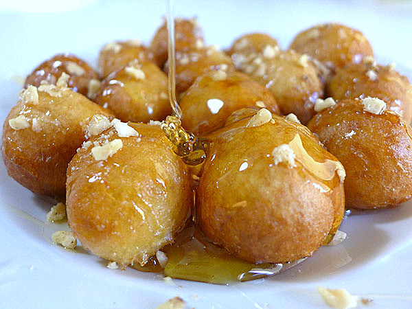 Funnel Cake Honey Balls
