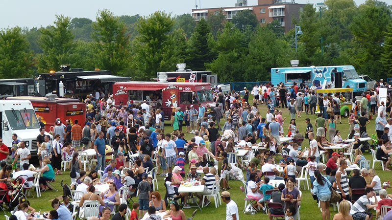 Funnel Cake Express at the Toronto Food Truck Festival 2017